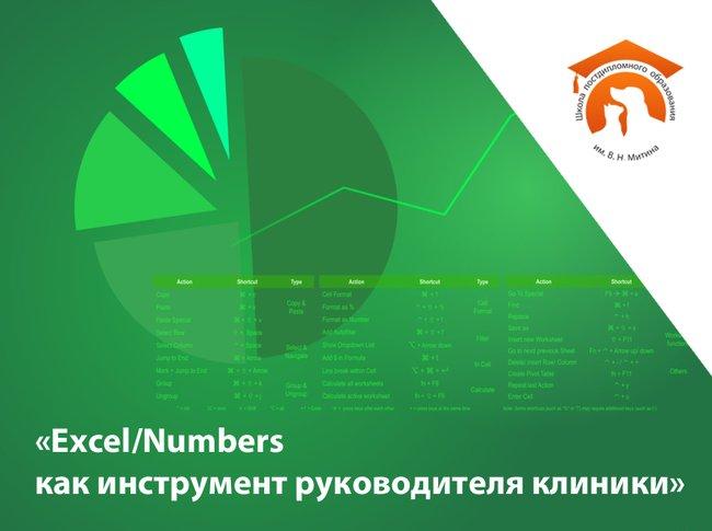 Мастер-класс «Excel/Numbers как инструмент руководителя клиники»
